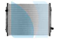 Радиатор основной RENAULT Kerax / МАЗ Швеция 5010315736