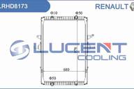 Радиатор основной Renault LRHD8173