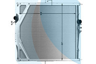 Радиатор основной VOLVO FH12/13/16/NH/VN Швеция 20722440