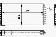 Радиатор отопителя MAN TGA/X/S/L/M 81619016166