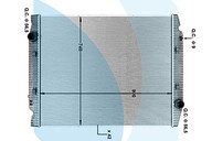 Радиатор восстановленный Iveco Stralis 1021024