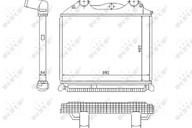 Интеркулер MAN TGA/X/S NRF 81061300199