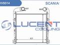 Интеркулер SCANIA R серия (04-) Lucent 1795730