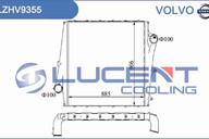 Интеркулер Volvo LZHV9355