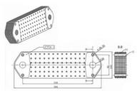 Маслоохладитель SCANIA 4 серия 1333183