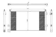 Конденсер (радиатор системы кондиционирования) VOLVO FM NRF 20515136