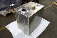 Алюминиевый топливный бак 130л