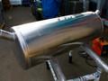 Алюминиевый топливный бак на рефрижератор 210л для полуприцепа Schmitz